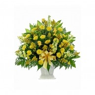 Bouquet Funebre Giallo